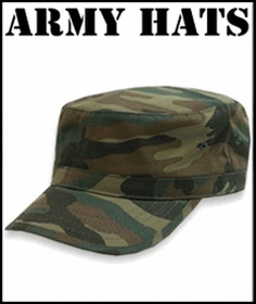 Military Style Hats