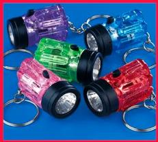 Mini Keychain Flashlight Assortment