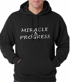 Miracle In Progress Adult Hoodie