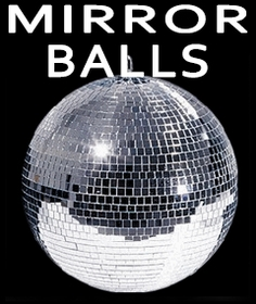 Mirror Disco Balls - Disco Balls and Party Lights