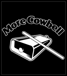 More Cowbell Men's T-Shirt