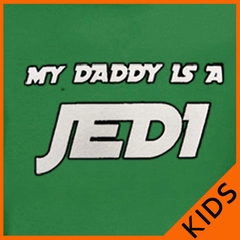 My Daddy is a Jedi Kids T-Shirt