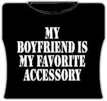 My Favorite Accessory Girls T-Shirt