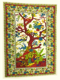 Native Purity Tree of Life Tapestry