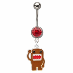 Navel Body Jewelry - Hello Domo Belly Button Ring
