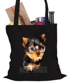 New Yorkie Funny Tote Bag