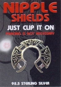 Nipple Shields (Celtic Cross)