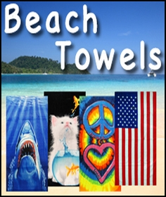 Novelty Funny Bath and Beach Towels