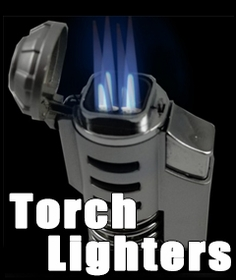 Novelty Torch Lighters : : Jet Flame Refillable Cigarette Lighters