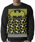 Official Batman Ugly Christmas Sweater Adult Crewneck