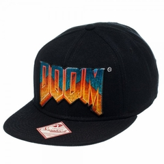 Official Doom Logo Adjustable Snapback Hat