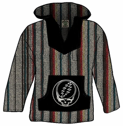 Official Grateful Dead Steal Your Face Deluxe Baja (Multi)