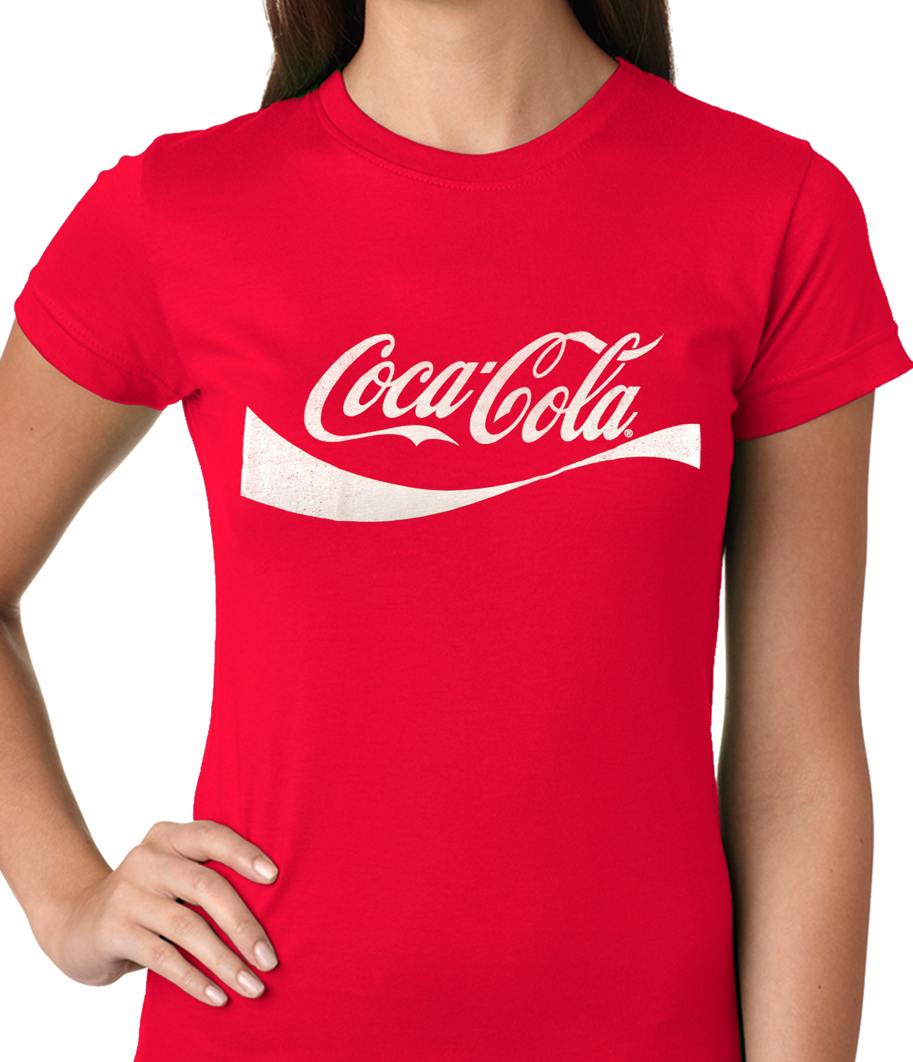 official vintage coca cola ladies t shirt. Black Bedroom Furniture Sets. Home Design Ideas