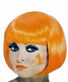 Orange Colored Wigs - Orange Wig