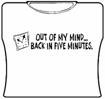 Out Of My Mind Girls T-Shirt