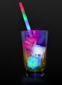 Party Time LED Light Show Straw