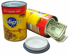 Pedigree Dog Food Diversion Can Safe