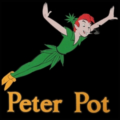 Peter Pot Funny Men's T-Shirt