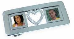 Picture Frame Belt Buckle with Free Belt