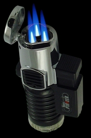 Pioneer Triple Torch Auto Flame Lighter