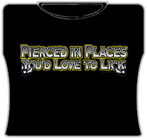 Places You'd Love To Lick Girls T-Shirt