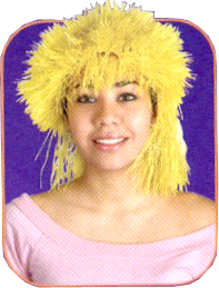 Popstar Yellow Wig