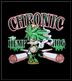 Pot Head Gamer Tees - Chronic the Hemp Hog T-Shirt