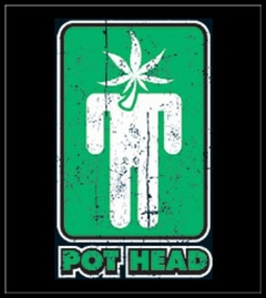 Pot Head Sign T-Shirt