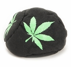 Pot Leaf Hack Sack (Black)