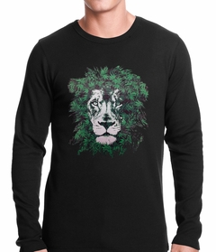 Pot Leaf Lion Thermal Shirt