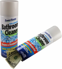 Power House Bathroom Cleaner Diversion Safe