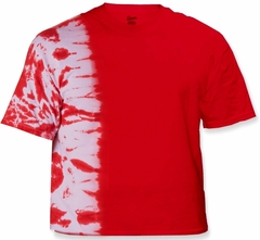 Premium Hand Made Tie Dye T-Shirts - Red Fusion