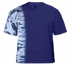 Premium Hand Made Tie Dye T-Shirts - Royal Blue Fusion