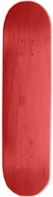 Pro Maple Skateboard Deck (Red)