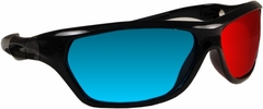 Professional 3D Movie Glasses :: Red and Blue Cyan  Anaglyphic 3D Glasses