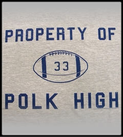 Property of Polk High #33  Vintage T-Shirt  From Married With Children