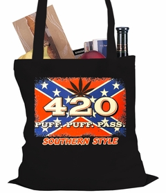 Puff, Puff, Pass Southern Style Tote Bag