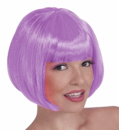 Purple Wigs - Light Purple Colored Wig