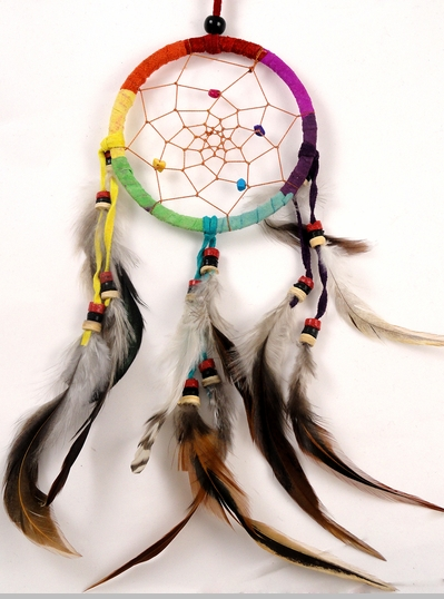 Rainbow Dream Catcher<!-- Click to Enlarge-->