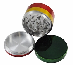 Herb Grinders - Rasta Colored Metal Herb Grinder