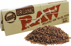 Raw Organic Natural Unbleached Rolling Paper