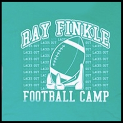 Ray Finkle Football Camp T-Shirt From The Movie Ace Ventura Pet Detective