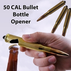Real .50 CAL BMG Bullet Bottle Opener