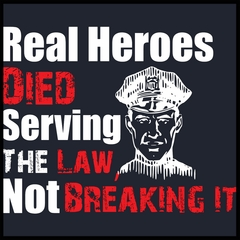 Real Heroes Mens T-shirt