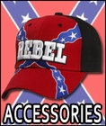 Rebel Flag Hats & Accessories - Confederate Flag Items