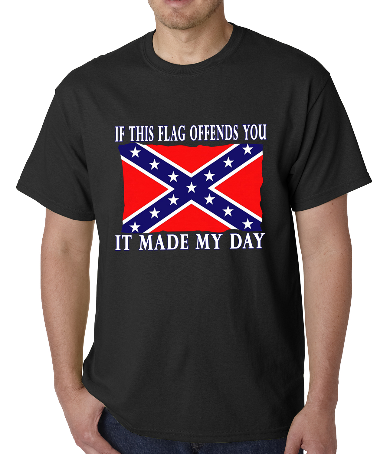 Rebel flag clothing store