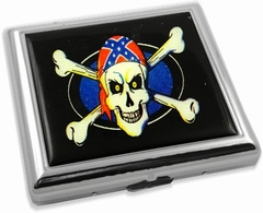 Rebel Pirate Skull Cigarette Case (For Regular Size Only)