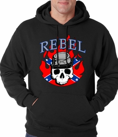 Rebel & Redneck Hoodie - Rebel Soldier Sweatshirt