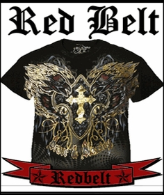 Red Belt  Couture T-Shirts & More