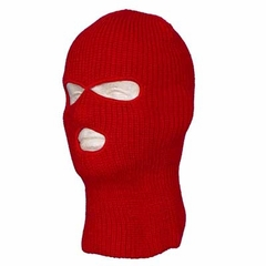 Red Warm Winter Ski and Face Mask